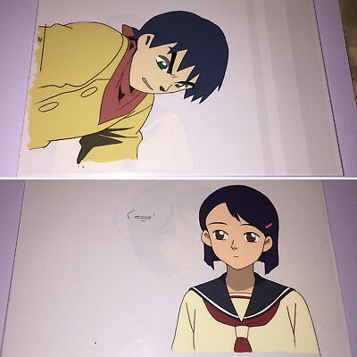 Now & Then, Here & There Anime Production Cels Cel And Ima Soko ni Iru Boku Wow