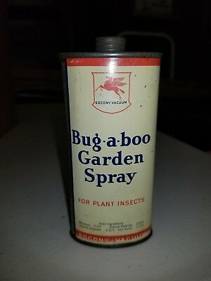 Vintage mobil bug-a-boo oil can handy oil  socony vacuum
