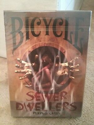 Bicycle Sewer Dwellers Limited Edition Playing Cards Poker Spielkarten