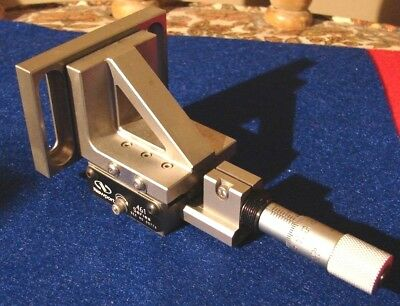 Newport 461 Translation Stage with 90 deg adapter and Newport SM-13 Micrometer