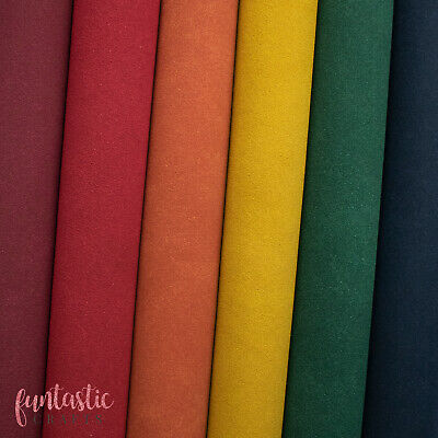 New Faux Suede Leatherette Fabric for Crafts and Bows - A4 Sheets - Faux Leather