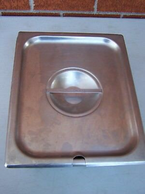 Polar Ware 1314 Steam Table Pan With Lid Stainless Steel  3 58