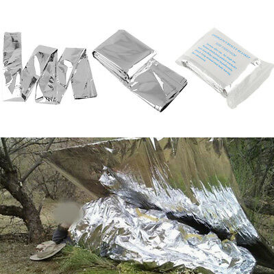 Waterproof Emergency Tent Kits Folding Survival Rescue Thermal Blanket Cover