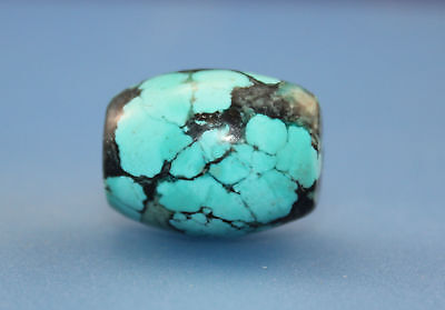 23*18 mm Antique Dzi turquoise old Bead from Tibet **Free shipping**