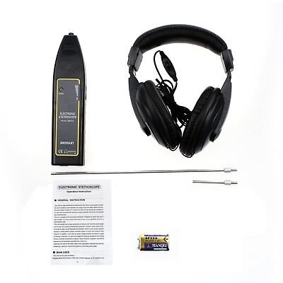 Automotive Electronic Stethoscope Machine Noise Detector 100Hz~10kHz Black