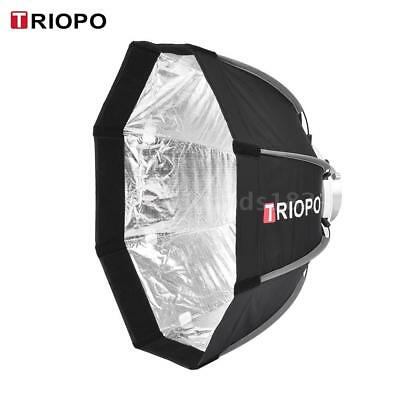 TRIOPO 55cm Umbrella Studio Octagon Softbox+Soft Cloth for Flash Speedlite J0I4