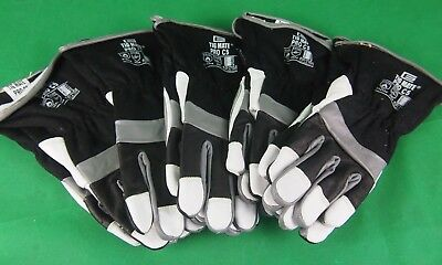 5 Pair Lge TIG Gloves TIGMATE PRO-C5 Tig Gloves Top Value Goat Skin TIG Glove