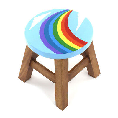 Children's Stool Chair Wood Furniture Home Bedroom Step Handmade From Solid Wood