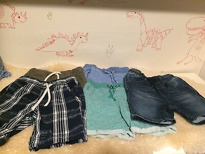 Five Lovely Pairs Of Boys Shorts. 18-24 Months. NEXT and M&S. Hardly Worn!