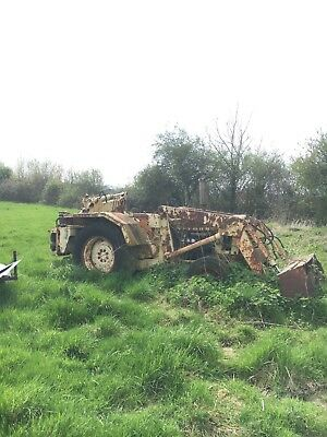 ford tractor digger project