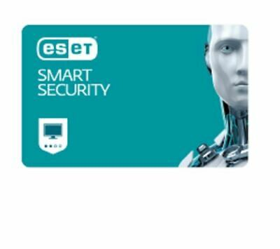 ESET Smart internet Security 1 PC 1 Year Anti-virus Theft Internet Firewall - DD