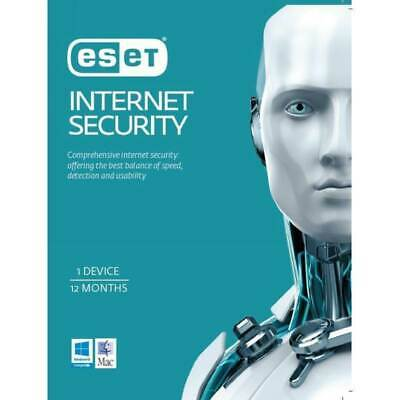 ESET NOD32 SMART INTERNET SECURITY Anti virus 1 PC 1 Year INTERNATIONAL - DD