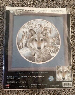 Dimensions - Call Of The Wolf - Cross Stitch Kit - #35084