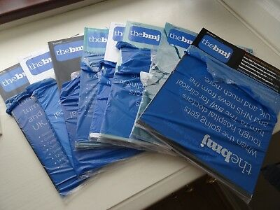 British Medical Journals x 8 weekly issues from 28 Oct 2017 to 25 November 2017