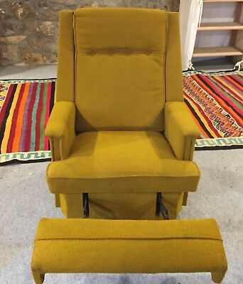 Astounding Iconic Vintage Mid Century Lounge Recliner Rocking Chair Mcm Onthecornerstone Fun Painted Chair Ideas Images Onthecornerstoneorg