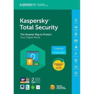 Kaspersky Total Security  2018 1 Devices/1 Year| DOWNLOAD| Global WORLDWIDE CODE