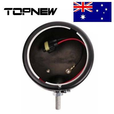 LED Black 4.5 inchAuxiliary Fog Light Burst Protect Cover For Harley Motorcycle