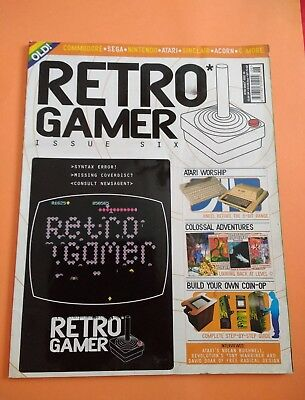 Retro Gamer Magazine Issue #6 No Cover Disc