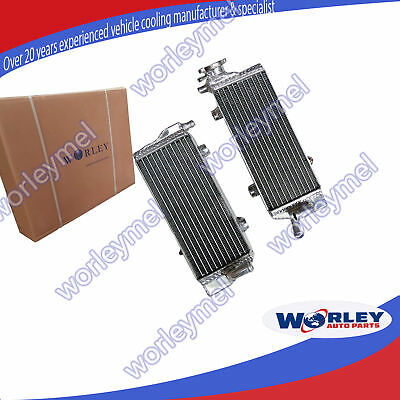 For KTM EXC 125 250 300 Radiator 2014 2015 2016 14 15 16 Aluminum