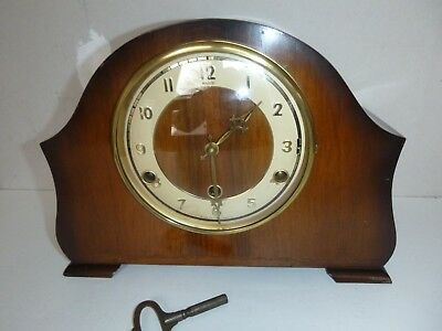"""Perivale Westminster Chime Mantel Clock   """"andrew"""""""
