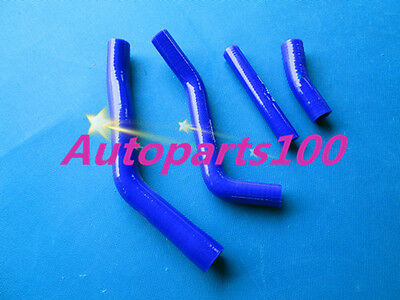 For YAMAHA YZF450F Radiator Blue Silicone Hose kit 2014 2015
