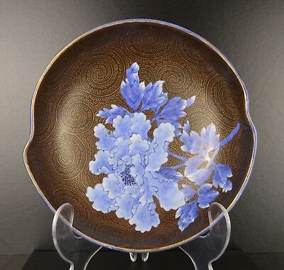 A Very Fine Japanese Large Meiji Period Porcelain Bowl With Mark To Base