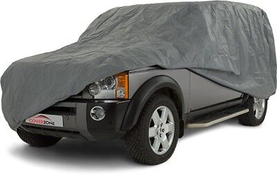 Land Rover Discovery 3 2004-2009 Heavy Duty Waterproof Car Cover Cotton Lined