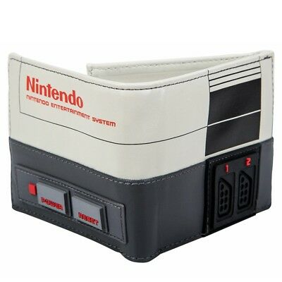NEW OFFICIAL Nintendo NES Console Shaped Classic Retro Boys Mens Wallet