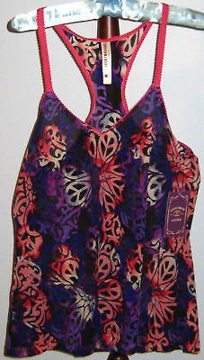 New LUCKY BRAND Size M Purple Pink Geometric Camisole