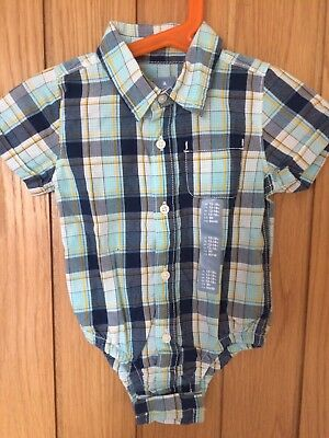 GAP Short Sleeved Shirt 12-18 Months