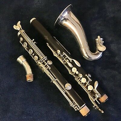 Buffet Professional Eb Alto Clarinet 1955 Wood Body! Playing condition, oiled