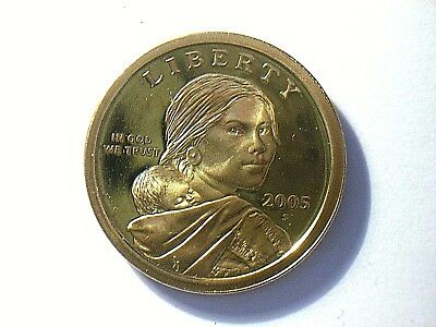1 dollar Sacagawea 2005 S BE