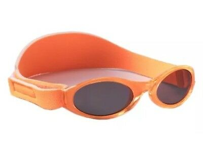 Baby Banz Adventure Sunglasses 100% UVA/UVB Protection - Orange, 0-2 years