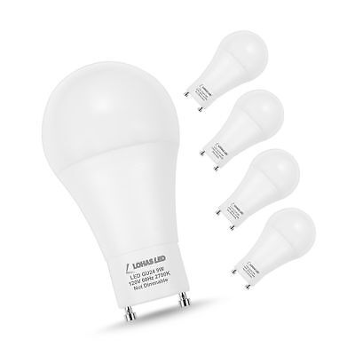 Led Light Bulb 60 Watt Replacement Gu24 Base A19 Cool White 4000k