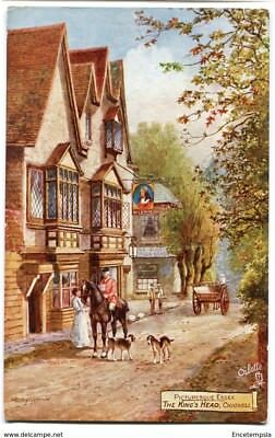 CPA-Carte postale- Royaume-Uni - Picturesque Essex - The King's Head - Chigwell