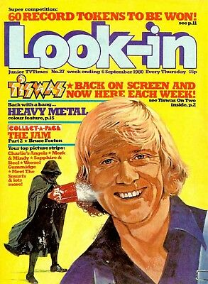 Best On Ebay/look-In Junior Tv Times / 208 Issues /1971-1994  Dvd Rom Collection