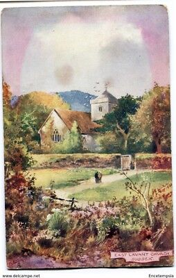 CPA-Carte postale- Royaume-Uni - East Lavant Church - Sussex - 1907 (CP2199)