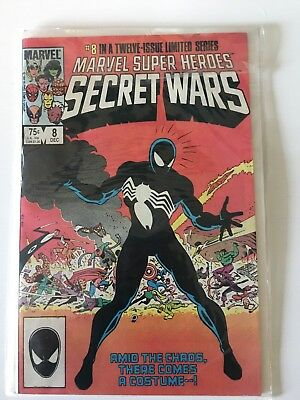 #8 In A Twelve Issue Limited Series, Marvel Super Heroes Secret Wars. 8 Dec 1984