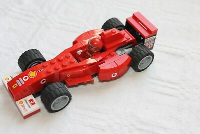lego formel 1 ferrari racers scuderia bauanleitung 8674. Black Bedroom Furniture Sets. Home Design Ideas
