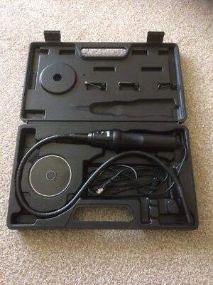 Xenta Flexible USB Inspection Camera Video Endoscope carry case check drains etc