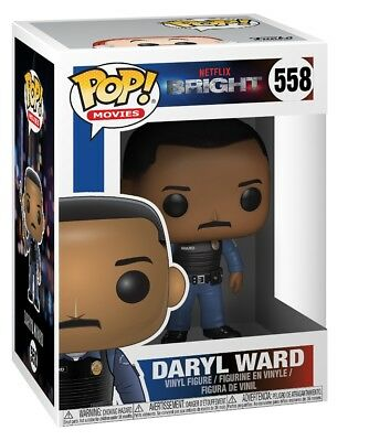 Funko ¡ POP! Vinilo Brillo Daryl Ward Coleccionable Figura no 558