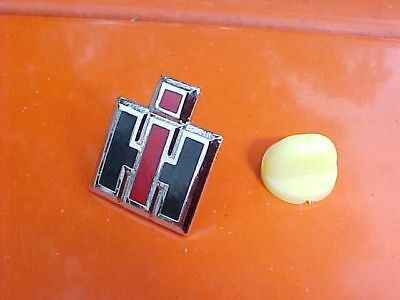 Ih International Harvester Hat Pin Mint Chrome Hi-Quality Farm Collectors Item!!