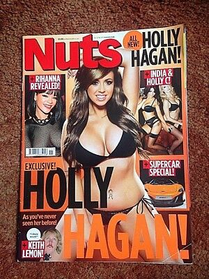 Nuts Lads Magazine 14-20 Mar 2014 Holly Hagan Exclusive  Good Used  Condition