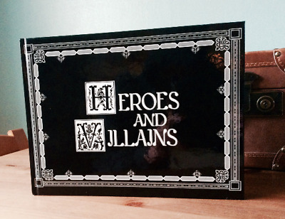 Heroes and Villians Once Upon A Time Storybook! Featuring Stories and Pictures!