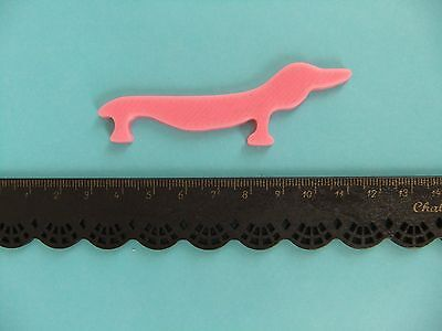 1 Mini Inkle Shuttle Weaving Inkle Loom Dachshund Dog *NEW* Made ECO Plastic
