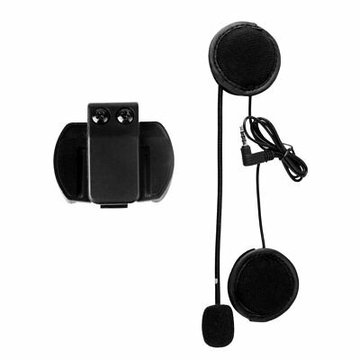 V4/V6 Headset with Mic Helmet Intercom Clip for Motorcycle Bluetooth Device LK