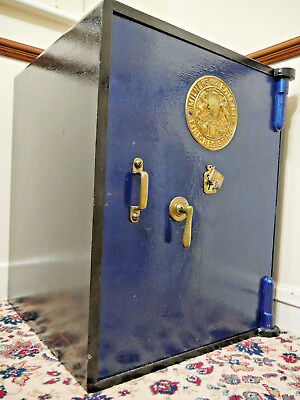 Milners Vintage Fire Resistant Safe Keys Fully Operational No Reserve