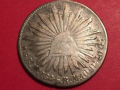very old and scarce 1846 Do Rm Mexico 8 REALES low grade, lot#224