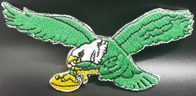 Philadelphia Eagles ~Iron On Embroidered Patch~Free Shipping From the U.S.A.~