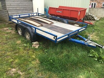 Flat bed Mower / Plant Trailer.